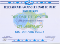Diplome CTTL2 Phase 2 DEPARTEMENTALE 1 D